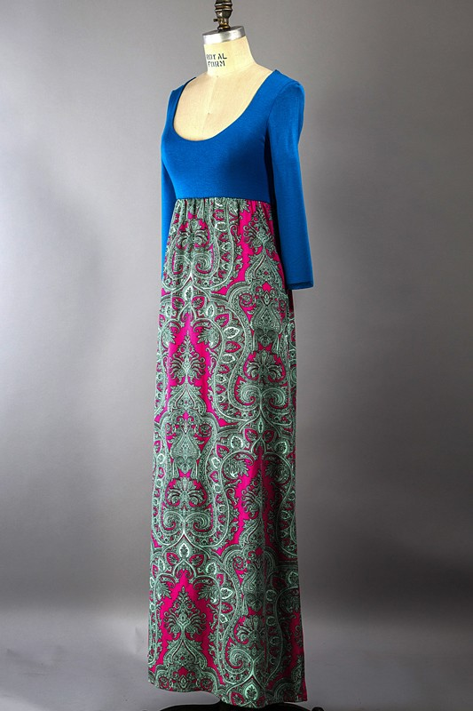 Unique Paisley Maxi